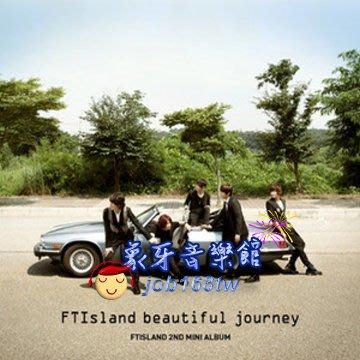 【象牙音樂】韓國人氣團體-- F.T Island 2nd Mini Album - FTIsland Beautiful Journey