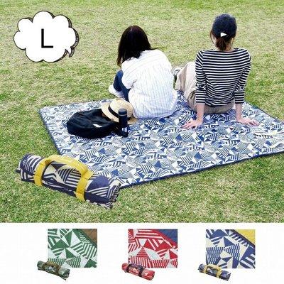 DOU DOU HOUSE 日本Laid-Back 厚款絎縫野餐墊L(現貨)