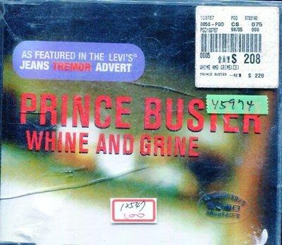 *還有唱片行* PRINCE BUSTER / WHINE AND GRINE 全新 Y5974 (49起拍)