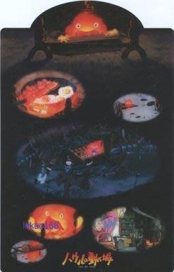 宮崎駿電影霍爾移動的城堡早期文具墊版...