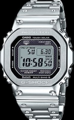 Casio G Shock stainless steel 35th GMWB5000D-1