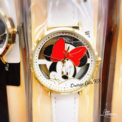 ☆橘子貓的918号店☆日本 迪士尼 Disney 聯名款 精緻鏤空系列 手錶  維尼/奇蒂/米妮/米奇 搭配單品、收藏品