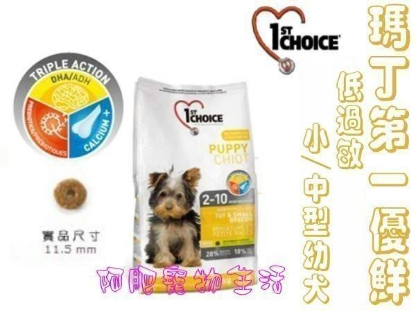 【阿肥寵物生活】瑪丁-中/小型幼犬低過敏飼料2.72kg/降低淚腺促進消化吸收