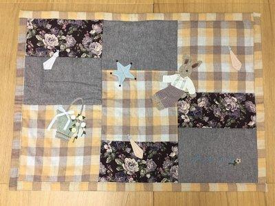 鄉村童話 日本製 Many布物 手作羊毛拼布墊