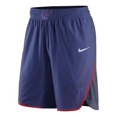 美國隊球褲 里約奧運 NIKE USA Basketball 球迷版 M尺寸 送一片NBA 2K17