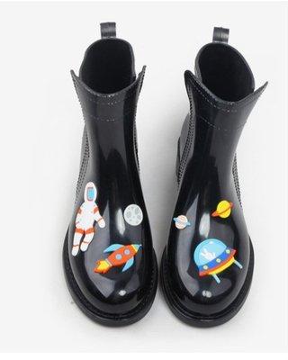 拼貼 雨鞋 日系獨創雨鞋  雨天 雨衣必備款