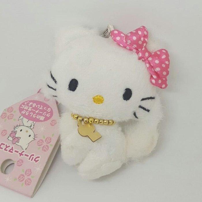 【UNIPRO】 三麗鷗家族 寵物貓 Charmmykitty 日貨 小吊飾 出清大特價 身體有點泛黃