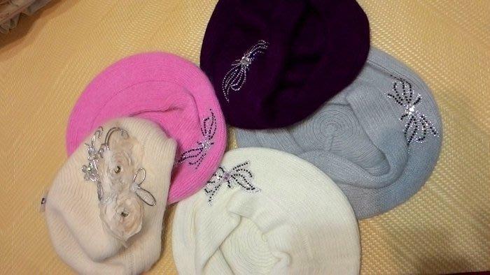 《螢螢傢飾》揶誕節 熱賣款~~~~~ 兔毛帽、貝蕾帽、畫家帽、鴨舌帽.毛線帽
