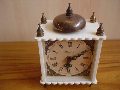 德國古董BLESSING機械鬧鐘,品相超優,功能正常,保存完美,值得珍藏【A144】