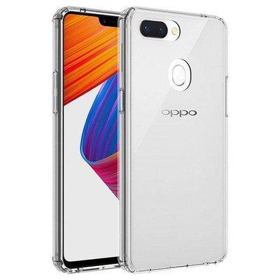 *Phone寶*QinD OPPO R15 雙料保護套 高透光 PC硬背殼 加厚防摔套 不變黃 保護殼