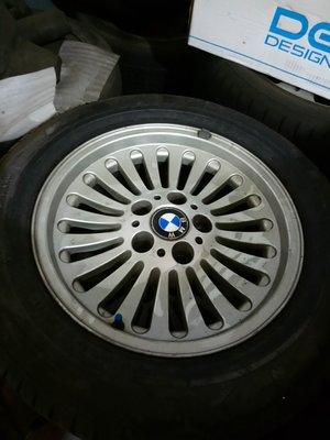 中古 BMW E39 16吋 原廠鋁圈