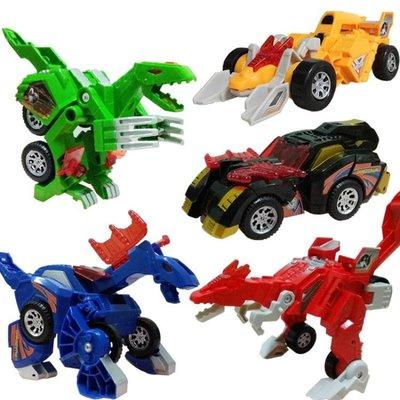雙十二8折下殺變形金剛變形玩具恐龍金剛兒童男孩恐龍模型汽車機器人變形車侏羅紀霸王龍
