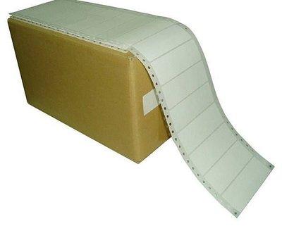 (墨水小舖)(3箱免運) 電腦貼紙/連續貼紙/標簽貼紙/白色/每箱12000張/9*2.4、10*2.4、11*2.4