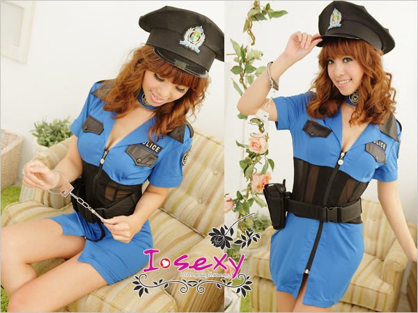 Women Lingeries,cosplay,police role play cloth,Sexy Costumes