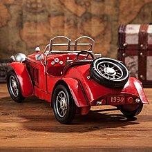 美式復古鐵皮老爺車模型~loft 民宿 餐飲 居家 攝影*Vesta 維斯塔*