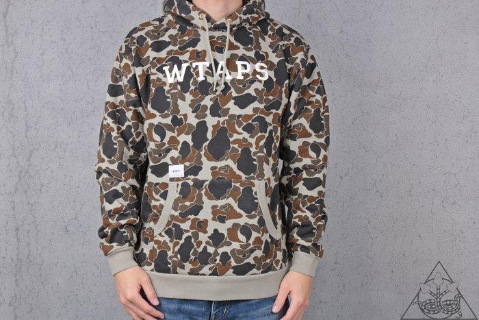 【HYDRA】Wtaps Design Hooded College Sweatshirt 迷彩 帽T【WTS70】