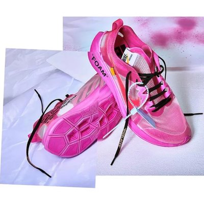 Nike Zoom Fly x Off White Pink 粉 AJ4588-006