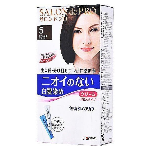 美國愛買 日本DARIYA 塔莉雅 Salon de Pro 沙龍級染髮劑-白髮染 無味型  高雄面交 超取