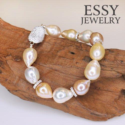 《玥心精品》高品質天然【珍珠 】手鍊 - Essy Jewelry