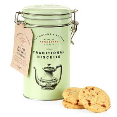 [要預購] 英國代購 英國CARTWRIGHT & BUTLER 鹽味焦糖餅 200g