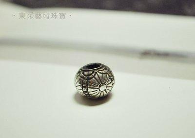 【東采藝術珠寶】老件 925純銀珠 早期 925銀珠珠子 OSI00020 飾品材料串珠批發 手作DIY