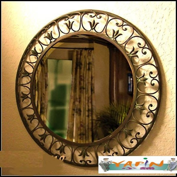 【yapin小舖】相框.畫框.裱框.復古仿舊風味鏡框.衛浴化妝鏡.歐風造型框.結婚照片框ab6