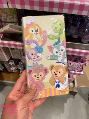 上海迪士尼國內代購達菲熊星黛露可琦安六寶門票收藏冊卡通文具