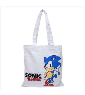 (現貨)約34x34cm 上膞 雜物袋 多用途包包 超音鼠 音速小子 SEGA  Sonic The Hedgehog 日本直送 全新品