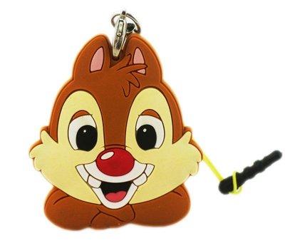 【卡漫迷】 蒂蒂 防塵塞 + 捲線器 夾式 集線器 ㊣版 Chip and Dale 松鼠 花栗鼠 隨身 耳機