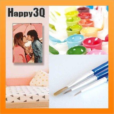 私人訂製創意送禮照片留念紀念成人大人簡單學畫畫DIY手繪人物數字油畫-訂做【AAA1817】預購