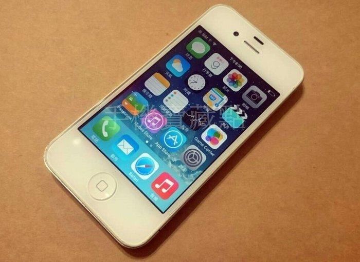 ☆手機寶藏點☆ 盒裝 iPhone 4 16G 亞太4G可用《全新旅充》 所有功能正常 歡迎貨到付款 Q22