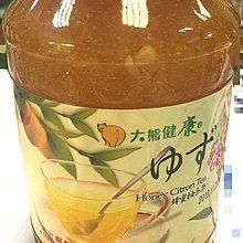 【喜樂之地】大熊 韓國蜂蜜柚子茶 1000g/罐 (超商禁止寄易碎品)
