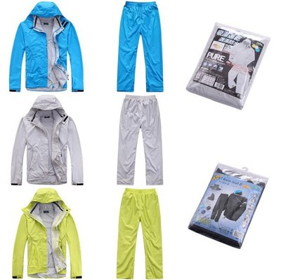 代購日本暢銷PLAIN多用途雨衣超薄輕便透氣款防水外套夾克騎機車自行車工作慢跑皆可