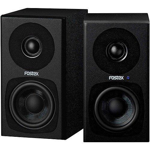 【六絃樂器】全新 Fostex PM0.3H 二音路主動式監聽喇叭 黑色款 / 工作站錄音室 專業音響器材