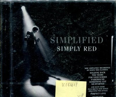 *真音樂* SIMPLIFIED / SIMPLY RED 全新 K16411