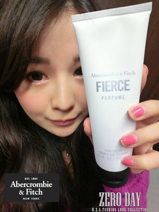 零時差美國時尚A&F真品Abercrombie&Fitch Fierce For Her Hand Cream香水護手霜