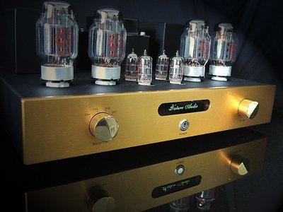 Nature Audio 純真之音-台灣製造JJ/TELSA真空管KT88推挽擴大機--遙控美聲版Kit