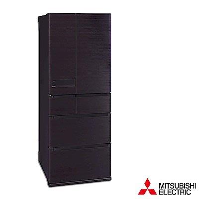 MITSUBISHI三菱 605公升 1級變頻6門電冰箱 MR-JX61C-RW-C 日本原裝