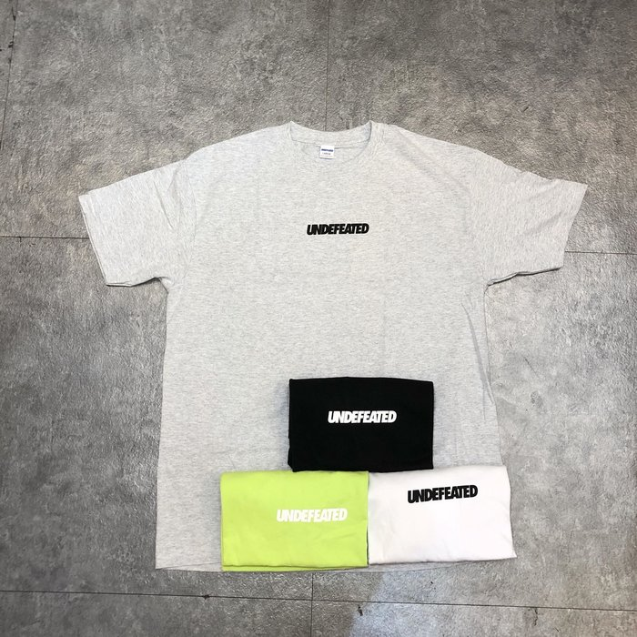 【Faithful】UNDEFEATED LOGO TEE【80098】 四色