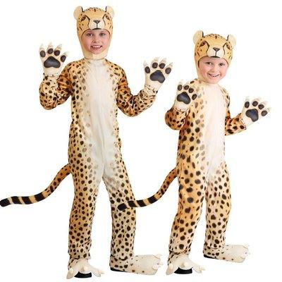 cosplay城堡屋萬圣節兒童節舞臺錶演會派對兒童幼兒獵豹花豹金錢豹子扮演服裝