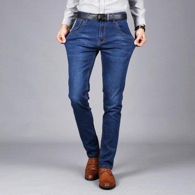 男牛仔褲直筒新款修身百搭休閒男裝薄款長褲子潮流t792