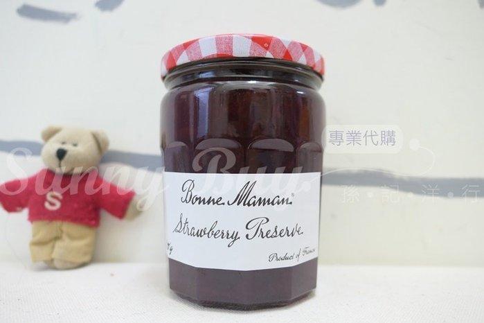 【Sunny Buy】◎現貨◎ 台灣好市多 法國 Bonne Maman 玻璃罐草莓果醬 750g 三明治 野餐 抹醬