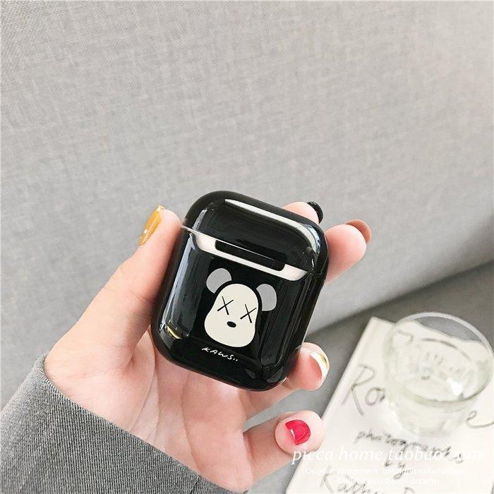 耳機保護套 耳機配件 airpods保護套 潮牌卡通AirPods保護套蘋果一代二代無線藍牙耳機套個性創意防摔