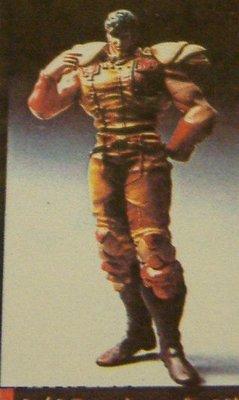 日本原版海洋堂1980年超級絕版 GK 模型 北斗神拳 南斗聖拳 南斗五車星 雲 volks  竹谷隆之