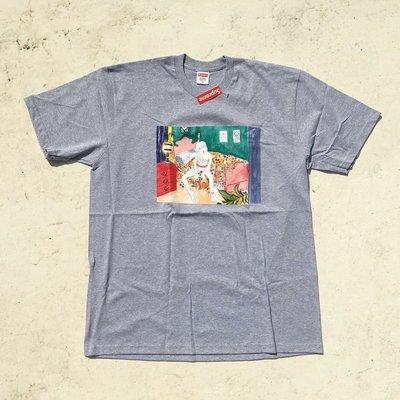 【HOMIEZ】2018 FW SUPREME BEDROOM TEE【SUPREME_TEE105】油畫 短TEE