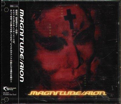 K - AION - MAGNITUDE - 日版 CD+2BONUS - NEW