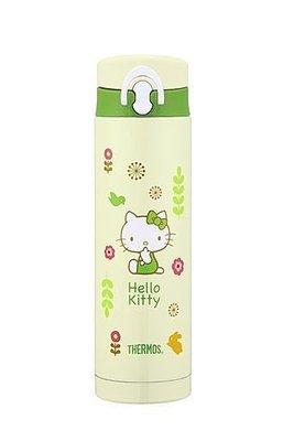膳魔師THERMOS 不銹鋼保溫杯JNF-500KT-GR Hello Kitty 綠意盎然篇-新上市 超取 面交