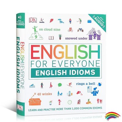 英文原版 英語學習書 English for Everyone English Idioms DK 人人學英語:習語