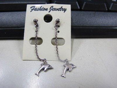 二手舖 NO.4485 時尚造型耳環 耳針 耳鉤 便宜賣 首飾飾品