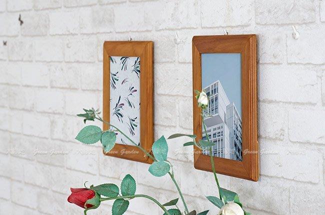 柚木相框 適用5*7相片(2入)【大綠地家具】木藝品/印尼進口/手工藝/居家佈置/擺飾品/相框牆